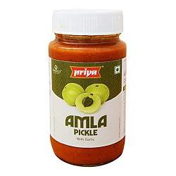 PRIYA AMLA PICKLE WITH OUT GARLIC 300g