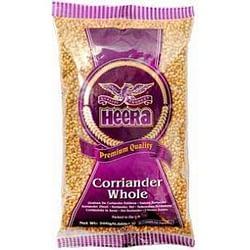 HEERA CORIANDER WHOLE BIG (DHANIYA WHOLE) 100G