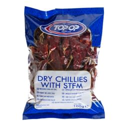 TOPOP CHILLIE WITH STEM 100g