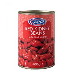 TOPOP RED BEANS TINSg 400g