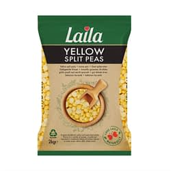 Laila Split Peas Yellow(Pillow Pack) 2Kg