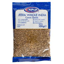 TOPOP JEERA WHOL INDIA 100g