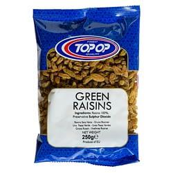 TOPOP RAISINS GREEN 250g