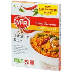 MTR Ready To Eat Sambar Rice 300g
