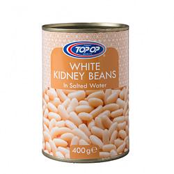 TOPOP WHITE BEANS TINS 400g