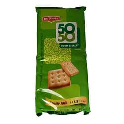 Britannia Fifty Fifty (FAMILY PACK) 62g
