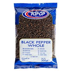 TOPOP BLACK PEPP WHOLE 300g