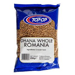 TOPOP DHANA WHOL ROMANI 250g