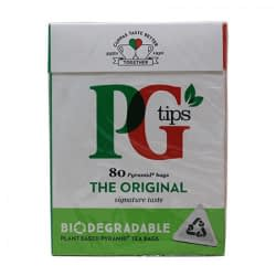 PG TEA TIPS TEA BAGS 80s