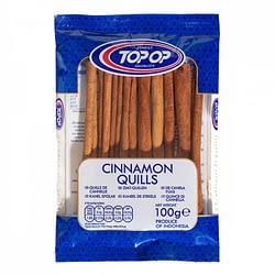 TOPOP CINNAMON QUILLS 100g