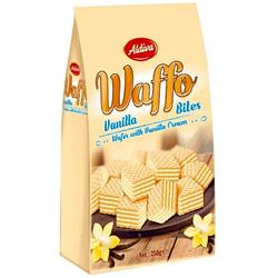 Aldiva Waffo Wafer Bites Vanilla 250g