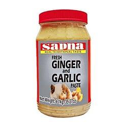SAPNA GINGER AND GARLIC PASTE 330GMS