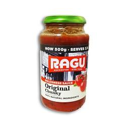 Ragu Bolegnese Sauce Original Chunky 500g