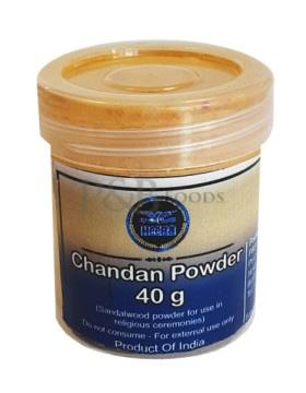 HEERA SANDALWOOD (CHANDAN) POWDER 40G