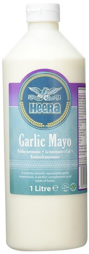 HEERA GARLIC MAYONNAISE 1LTR