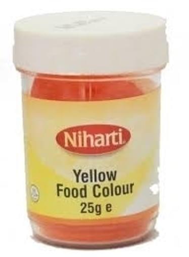 NIHARTI FOOD COL YELLOW 25g