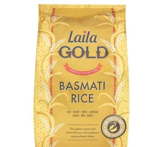 Laila Gold Basmati Rice 20kg