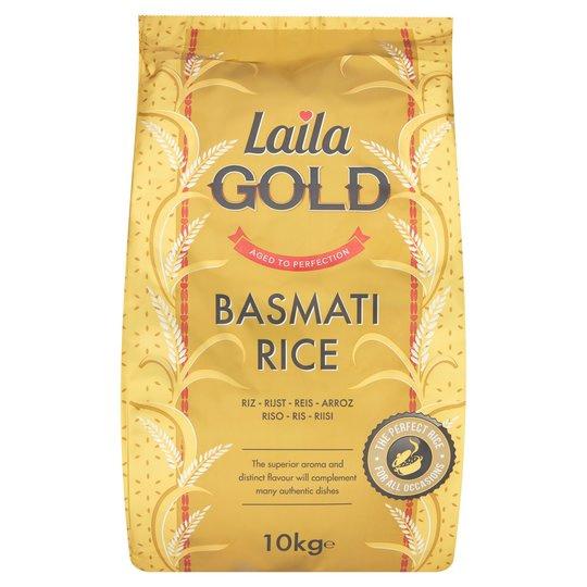 Laila Gold Basmati Rice 10Kg