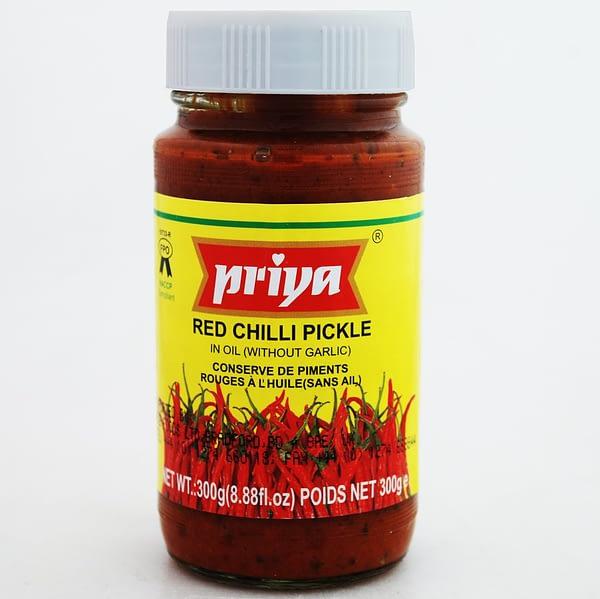 PRIYA RED CHILLI PICKLE 300g