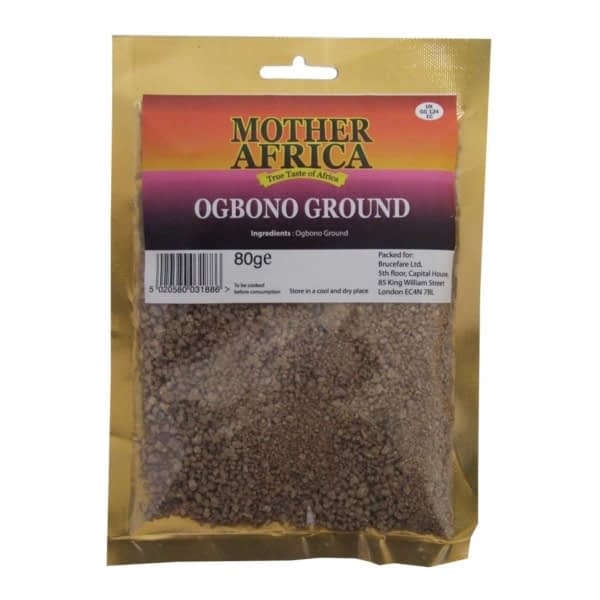Mother Africa Ogbono Ground 80G