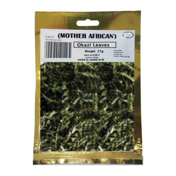 Mother Africa Okazi Leaves 25G