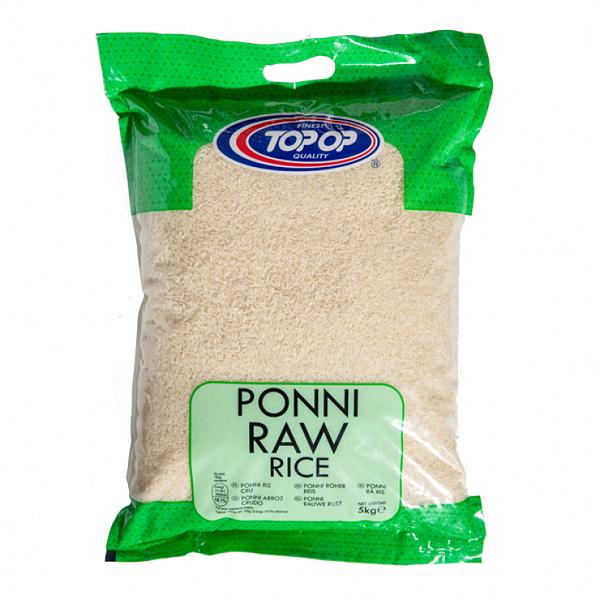TOPOP RICE PONNI RAW 5kg