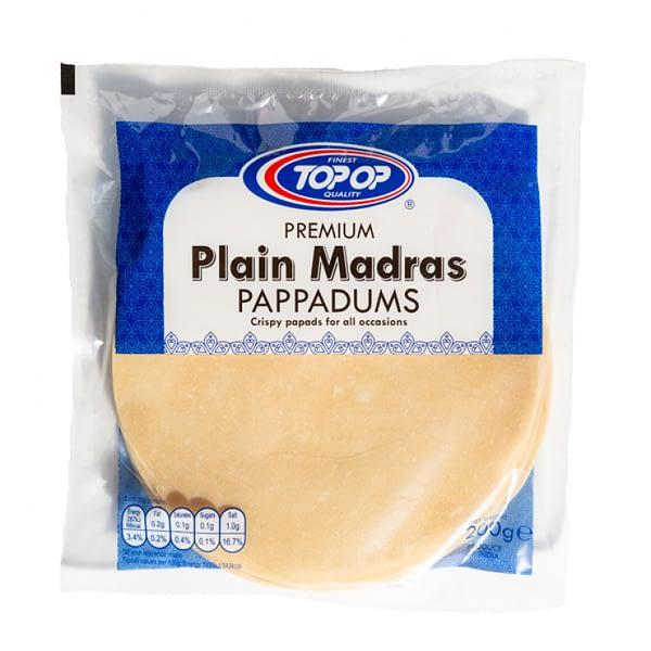 TOPOP MADRAS PAPAD 200g
