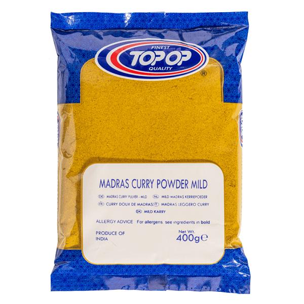 TOPOP CURRY POWDER MILDg 400g