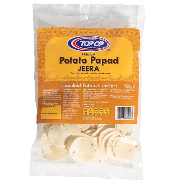 TOPOP POTATO PAPAD JERA 150g