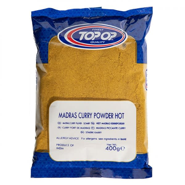 TOPOP CURRY POWDER HOT g 400g