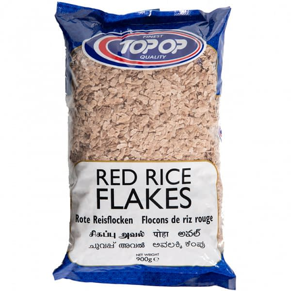 TOPOP RED RICE FLAKES9g 900g