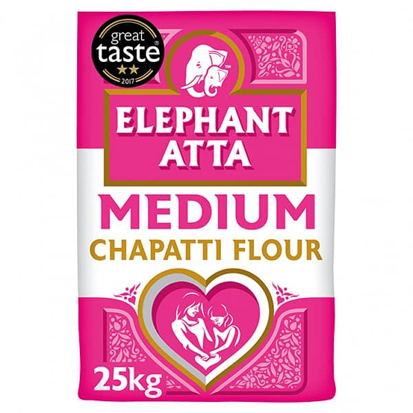 Elephant CHUPATTY FLOUR ELEP MED 25kg