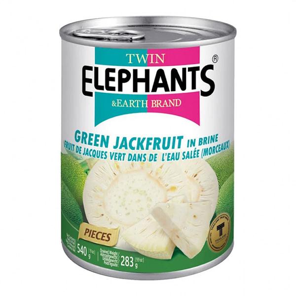 TWIN ELEHPHANT GREEN JACKFRUIT 565g