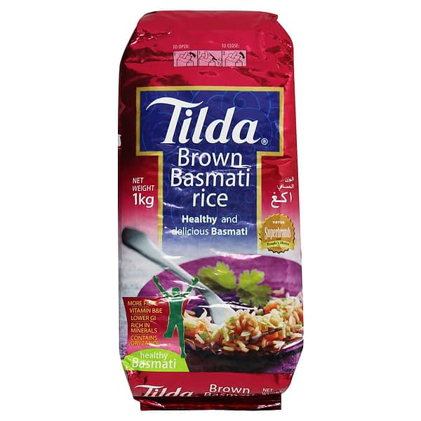 TILDA BROWN BASMATIRICE 1kg