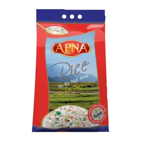 Apna Long Grain Basmati Rice (Brick Pack) 2KG