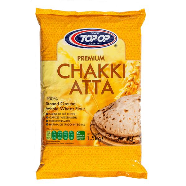 TOPOP CHAKKI ATTA 1.5kg