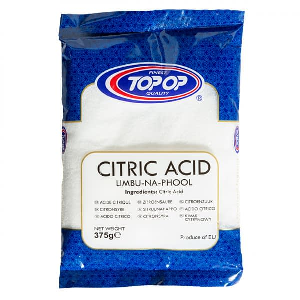 TOPOP CITRIC ACID 375g