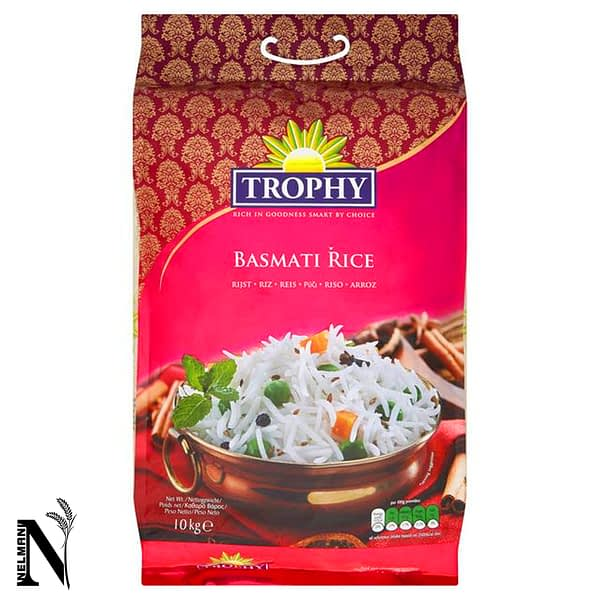 TROPHY BASMATI RICE (White Pallet) 1kg