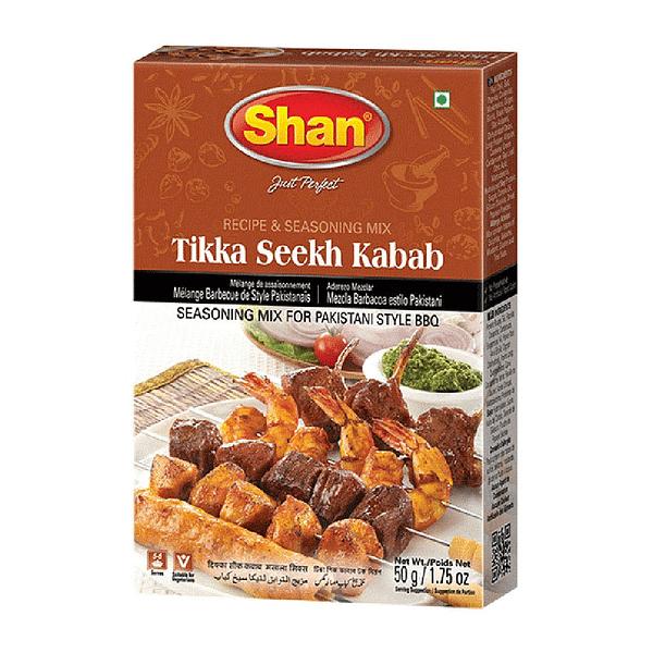 Shan BBQ Tikka Seekh Kebab 50Gm