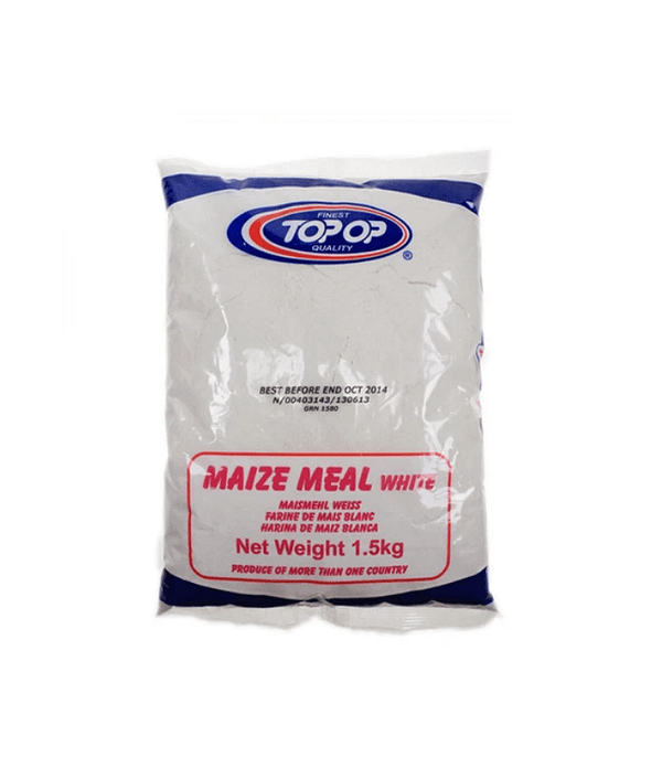 TOPOP MAIZEMEAL WHITE 1.5kg