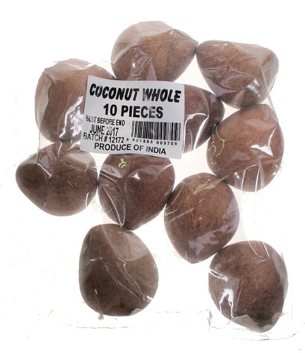 TOPOP COCONUT WHOL DRY pcs 10pc