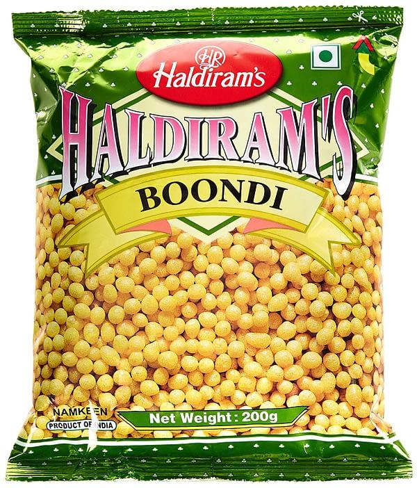 Haldiram BOONDI PLAIN 200G