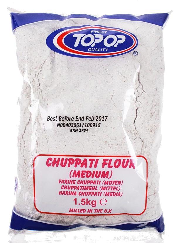 TOPOP CHUPATTY FLOU MED. 1.5kg
