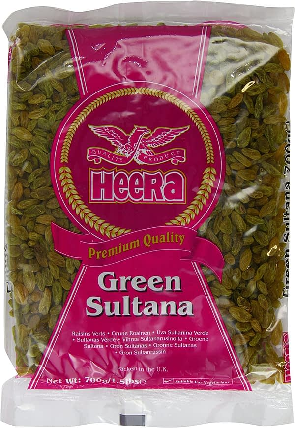 HEERA GREEN SULTANA 700G